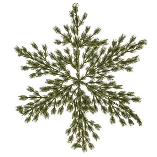 Artificial Christmas Pine Snowflake Large 92cm  - 18X029