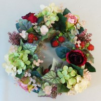 Artificial Flowers Wreaths
