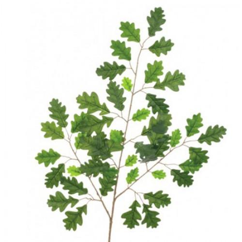Artificial English Oak Leaf Branch Small Leaves - OAK010 K4