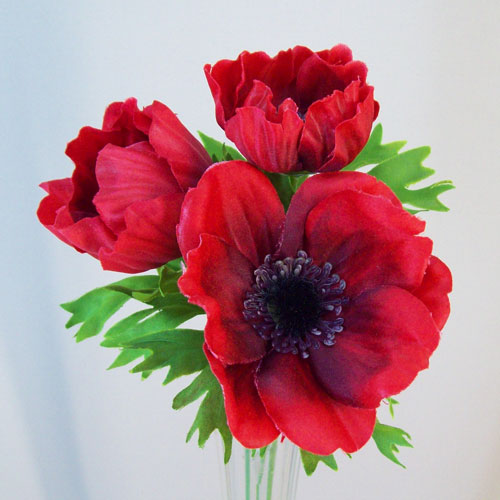 Artificial Anemones Red - A094 B2