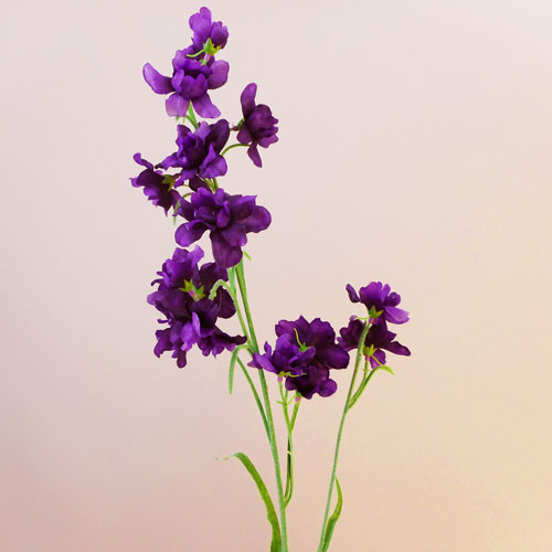 Obedient Plant Realistic Wild Flowers Bunch Artificial Blue White Physostegia